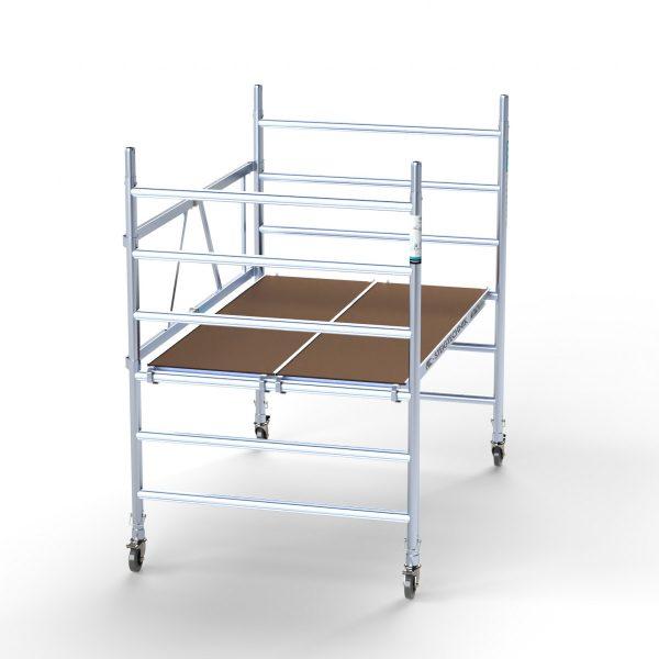 "AC Steigtechnik ""xPress PRO-L""Zimmerfahrgerüst XL, ZiFa, 3,0 m, große Arbeitsfläche"