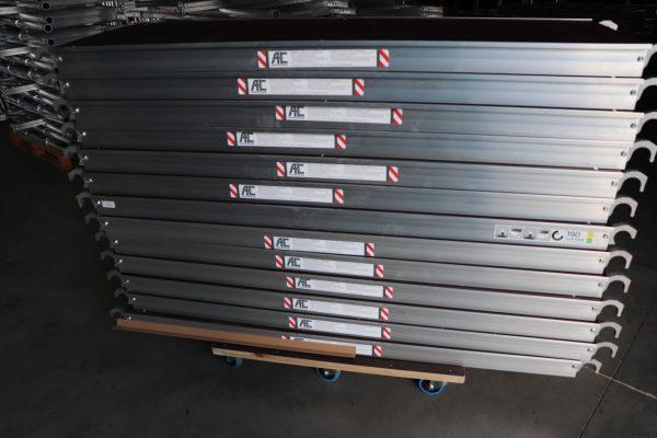 AC Steigtechnik Plattform 190 cm ohne Luke