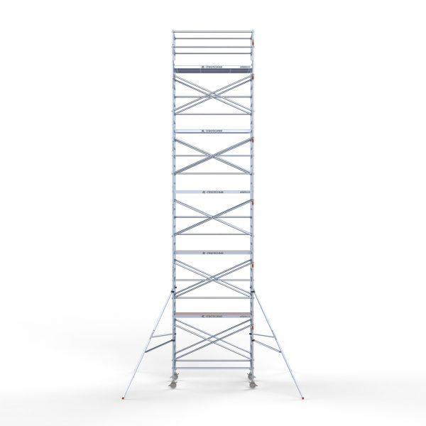 Gerüstanhänger BASIC inkl. Gerüst bis 12,30 m, 135er Rahmen