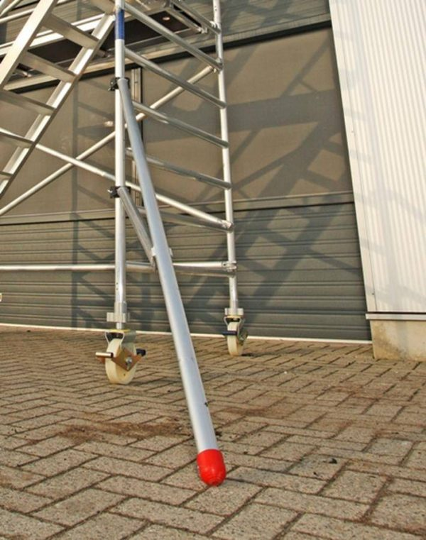 """Zusatzpaket """"freistehender Aufbau"""" für Gerüste bis 8 m Arbeitshöhe"""