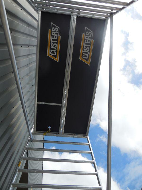 "CUSTERS Plattform ""CR"" 250 cm ohne Luke"