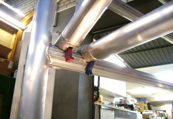 Horizontalstrebe 190 – AC Steigtechnik für Gerüste mit 190 cm Plattform