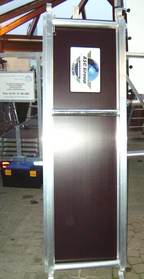 AC Steigtechnik Plattform 305 cm mit Luke