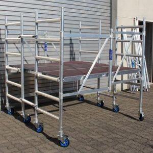 AC Steigtechnik Kombi-Rollbock L, Arbeitsfläche 1,90 x 1,85 m, Arbeitshöhe bis 3,0 m