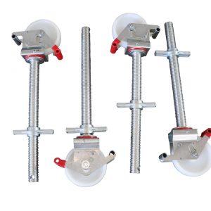 4 Stück Gerüstrollen 150 mm kompatibel zu Layher* – Gerüsten