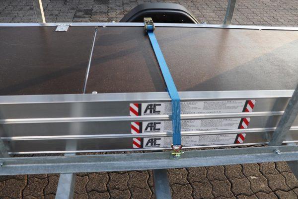 "Gerüstanhänger ""X-Safe 250"" abschließbar inkl. Gerüst bis 12,30 m, 75er Rahmen"