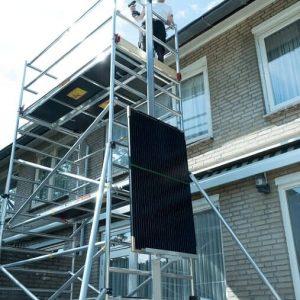 AC Steigtechnik Solarplatten-Lift, Gerüst-Aufzug