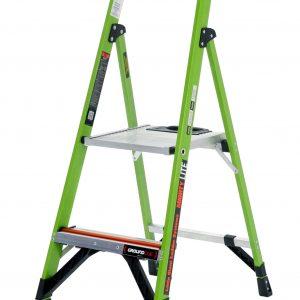 JUMBO Giant GFK-Stufenstehleiter