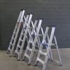 Trittleiter / Klapptritt 1 x 3 bis 1 x 12 mit Werkzeugablage