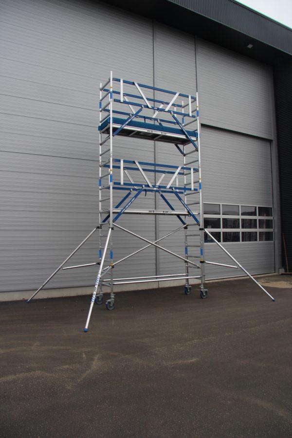 """Montageschutzgeländer """"AGS Pro"""" Safe für AC Steigtechnik Rollgerüste"""