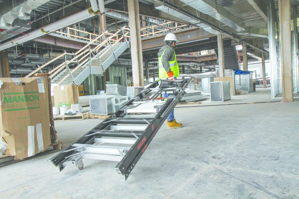 JUMBO Giant GFK-Plattformleiter-Podestleiter