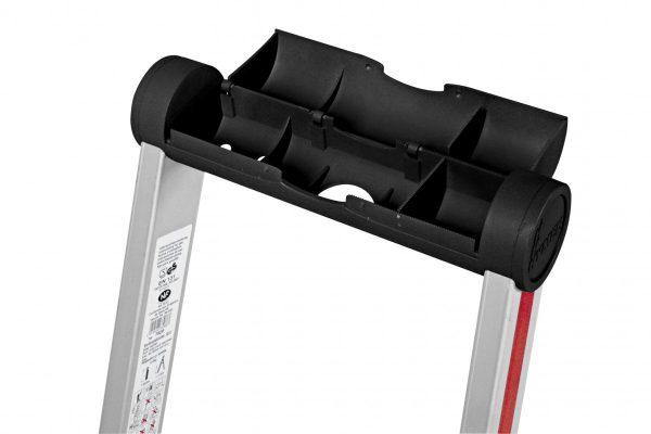 HYMER 4026 Stufenstehleiter mit Plattform, einseitig begehbar