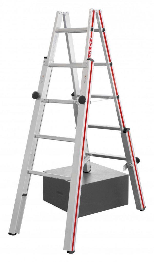 HYMER 4123 Treppenstehleiter