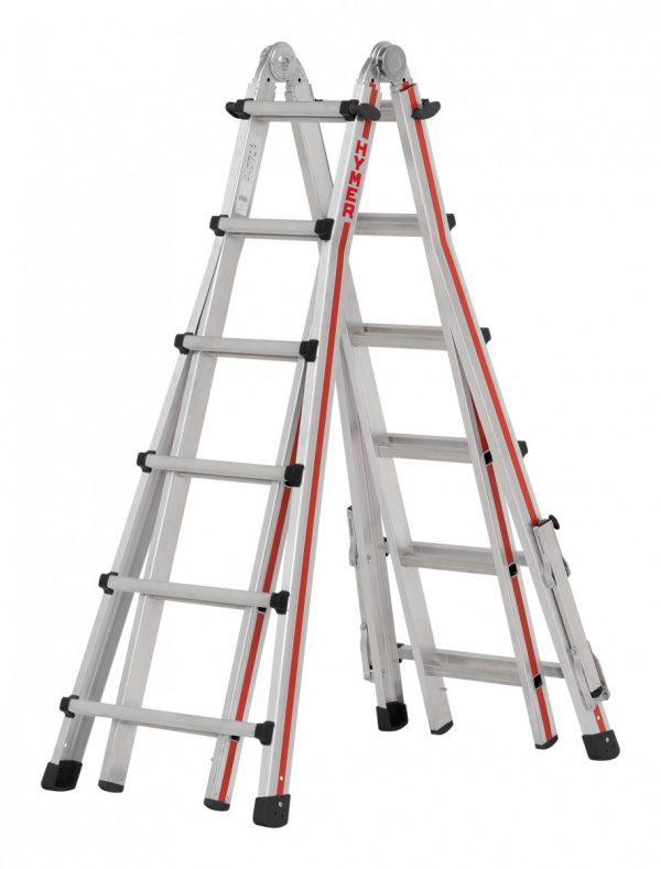 HYMER 4142 Teleskopleiter
