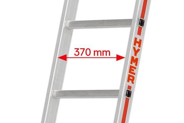 HYMER 6011 Sprossenanlegeleiter