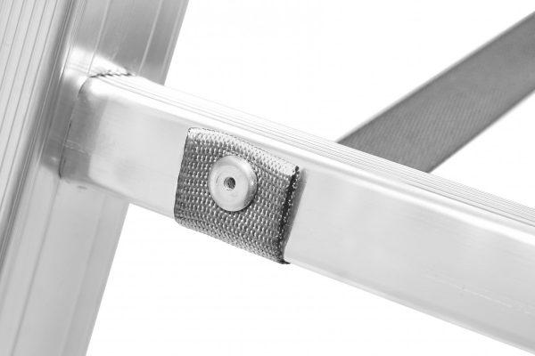HYMER 6023 Sprossenstehleiter, beidseitig begehbar