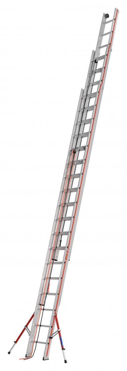 HYMER 6261 Seilzugleiter, dreiteilig