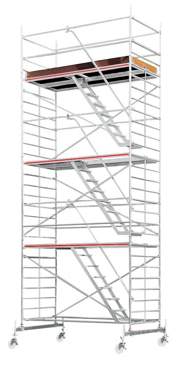HYMER 6273 Treppen-Fahrgerüst mit Fahrtraverse