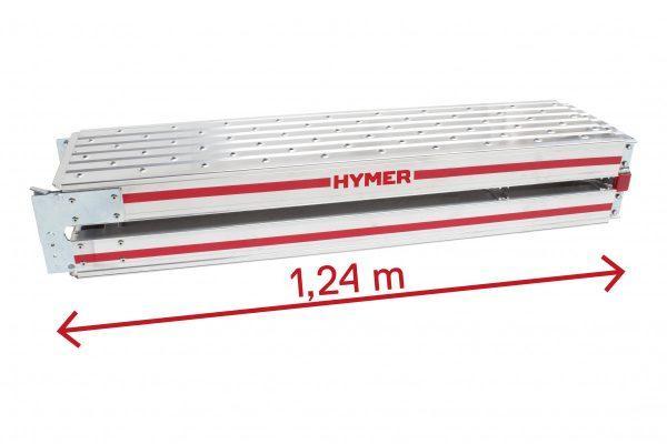 "HYMER 6859 Alu-Diele ""TELESTEG"""