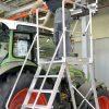 HYMER 6888 Podesttreppe fahrbar, einseitig begehbar
