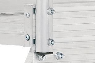 HYMER 6889 Podesttreppe fahrbar, einseitig begehbar