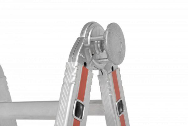 "HYMER 8042 Teleskopleiter ""TELESTEP"""