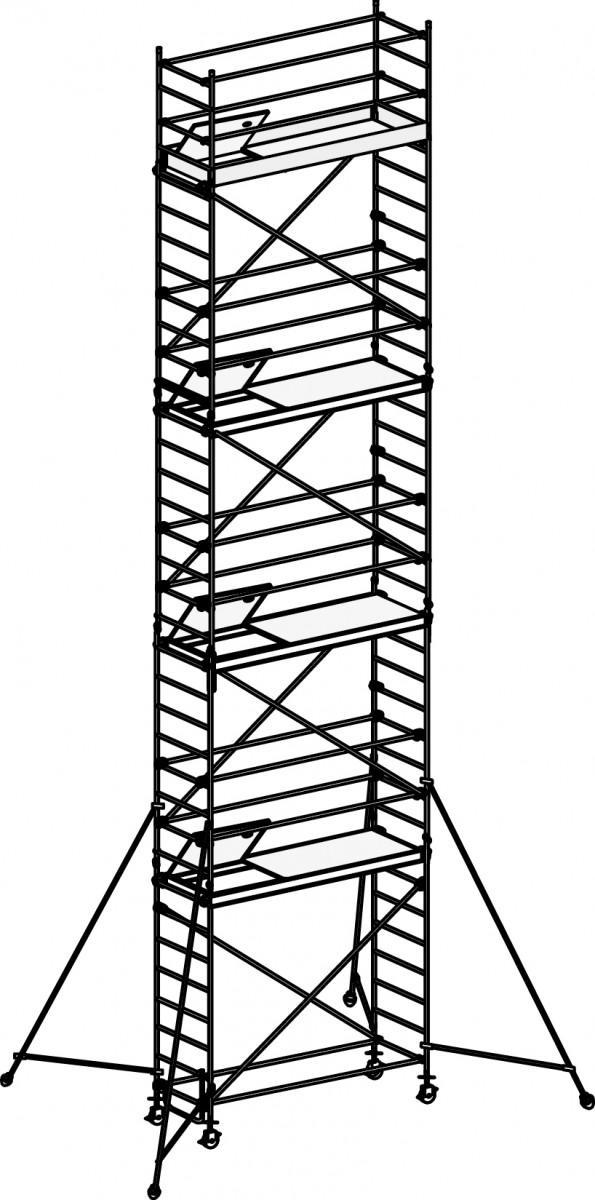 HYMER 8371 Fahrgerüst mit Ausleger