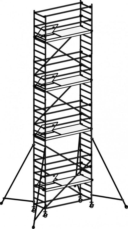 HYMER 8472 Fahrgerüst mit Ausleger