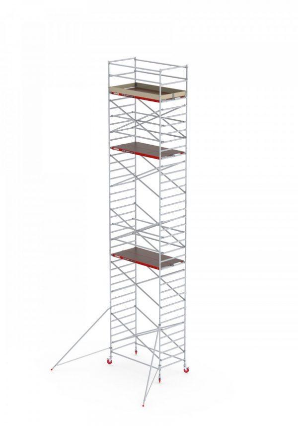 ALTREX Aluminium Fahrgerüst RS TOWER 42 – breit 1.35 m – 4,20 bis 14,20 m Arbeitshöhe – Plattform 185 cm