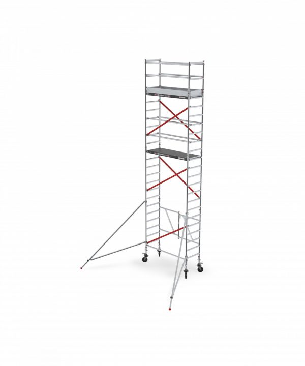 ALTREX TOWER 54 – Aluminium Klappgerüst schmal 0.75 m – 3,00 bis 9,80 m Arbeitshöhe